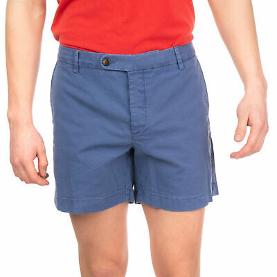 JACOB COHEN ACADEMY Canvas Chino Shorts Size 36 Garment Dye Made in Italy