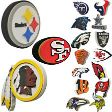 Brand New NFL 3D Fan Foam Logo Holding / Wall Sign Made in USA