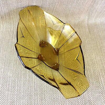 nstein Glas Früchte Tisch Mittelstück Original Vintage (Art Deco Tisch Mittelstücke)