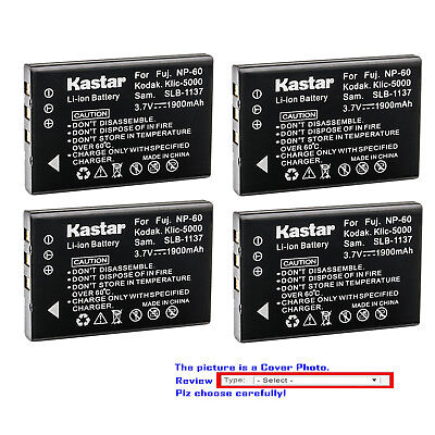 Ferrari Camera Battery - Kastar Replacement Battery for Olympus LI-20B & Ferrari Digital Model 2004