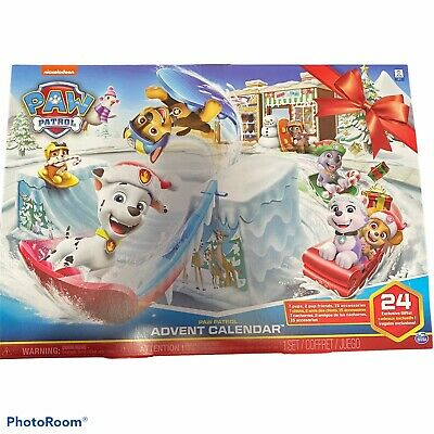 Paw Patrol Christmas Advent Calendar 24 Figures Accessories Gifts Toys