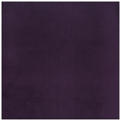Masquerade Plum PURPLE Crypton INCASE Velvet Suede LIKE Upholstery Fabric