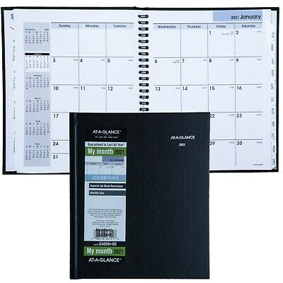 2021 At-a-glance Dayminder G400h Monthly Planner Hardcover 6-78 X 8-58