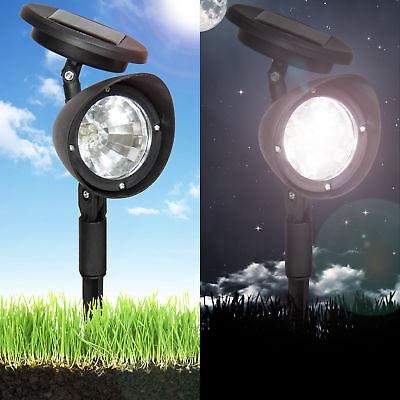 8 Piece 4-LED Solar Lights For Landscape Pathway Lawn Garden Driveway Spot Light