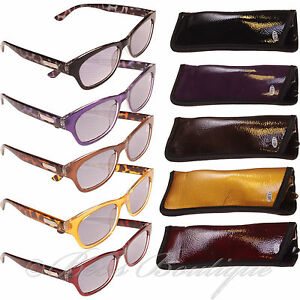 Eye-Time-Large-Reading-Sun-Glasses-Mens-Ladies-1-1-5-2-Dazzle-Vintage-Specs