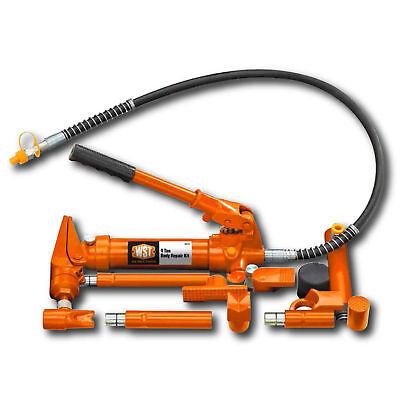Hydraulic 4 Ton Body Porta Power Style Frame Repair Kit Auto Shop Ram