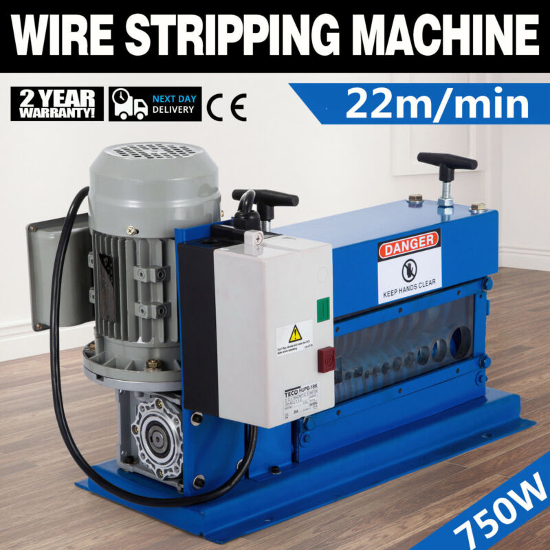 Portable Powered Electric Wire Stripping Machine 60HZ Wire Stripper 10 Blades