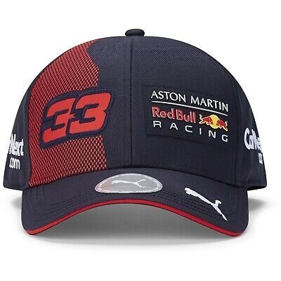 Red Bull Racing F1 2020 Team Max Verstappen Hat in Navy