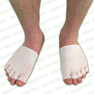 Moisturising Gel Toe Socks Sore Painful Ball of Foot Instant Comfy Cushion Pain