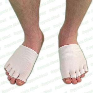 Moisturising Gel Toe Socks Sore Painful Ball of Foot Instant Comfy Cushion Pain