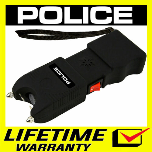 POLICE Stun Gun 928 650 BV Heavy Duty Rechargeable LED Flashlight