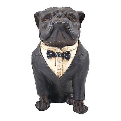 Winston Vintage Antique Large British Bulldog Dog Ornament Sculpture Statue