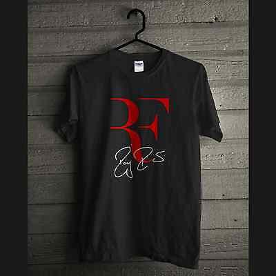 Rf Logo Roger Federer Perfect Tennis T Shirt Gildan Short Sleeve Cotton Tee