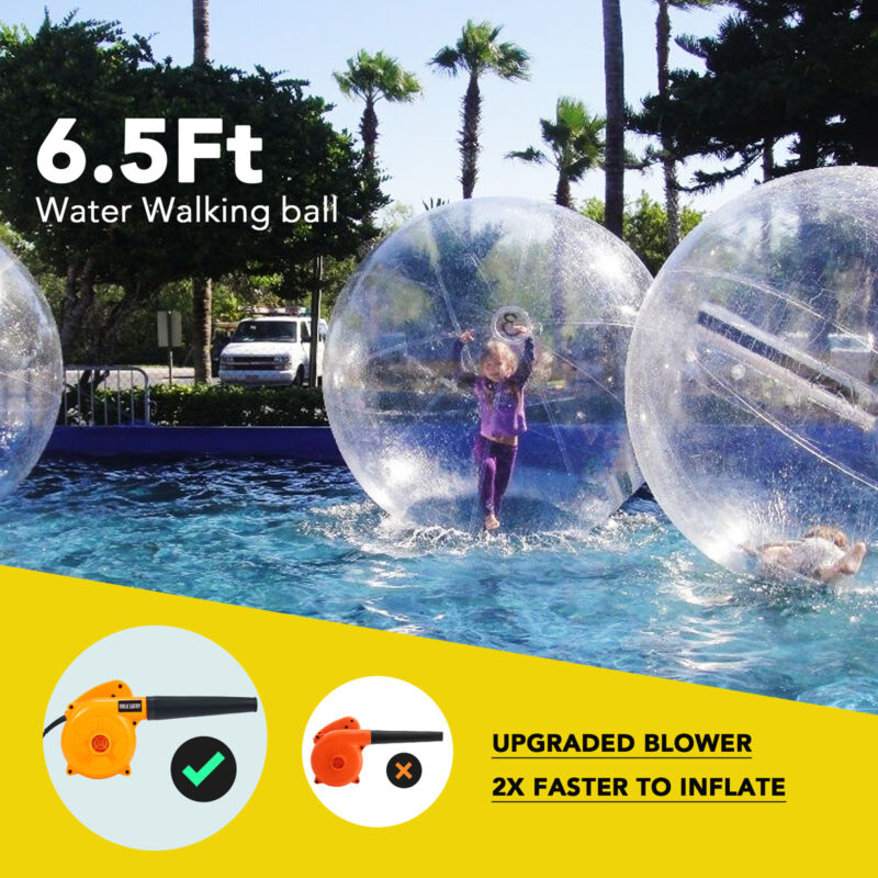 2m Inflatable Walk on Water Walking Zorb Ball PVC German Tiz