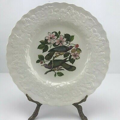 Meakin, Alfred Birds of America Cream Color 10 7/8 # 367 Dinner Plate Pigeon