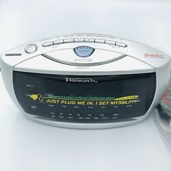 Emerson CKS3029 AM/FM Clock Radio with SmartSet Automatic Time Setting System