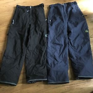 2 Pairs of Snow Pants. (Pinzel) Size-Medium Youth. $10.00 Each.