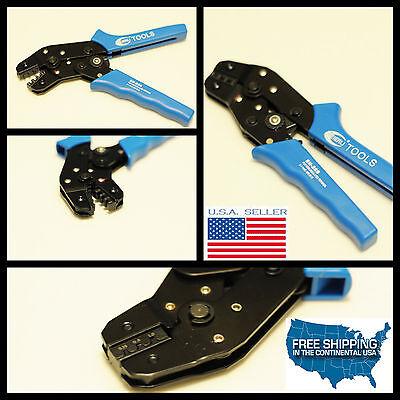 (Molex terminal PIN HAND Crimping Tool Plier Wiring Crimper 18-28 AWG 08-53-0811)