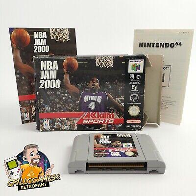 "Nintendo 64 Spiel "" NBA Jam 2000 "" N64 / N 64 Basketball   OVP PAL EUR Acclaim"