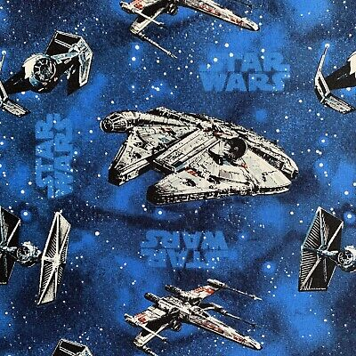 FQ STAR WARS SPACESHIP MILLENNIUM FALCON JEDI STORMTROOPER CHARACTER  FABRIC