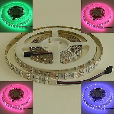 LED Strips Streifen 5050 Dual Band 24V RGB 120 LED/Meter