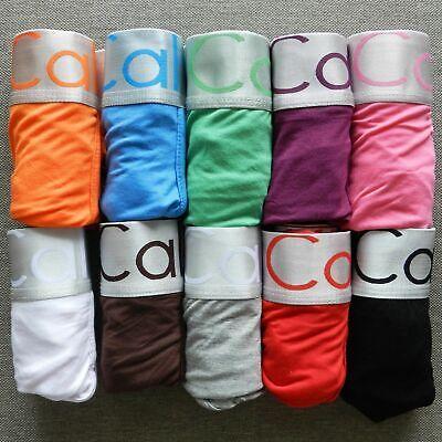Modal Boxer Briefs (Mens Cotton Underwear Boxer Briefs Underpants Set 5-10pcs Modal Many Colors)