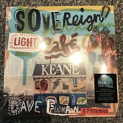 Light Green Vinyl (KEANE - DISCONNECTED / SOVEREIGN LIGHT CAFE  7