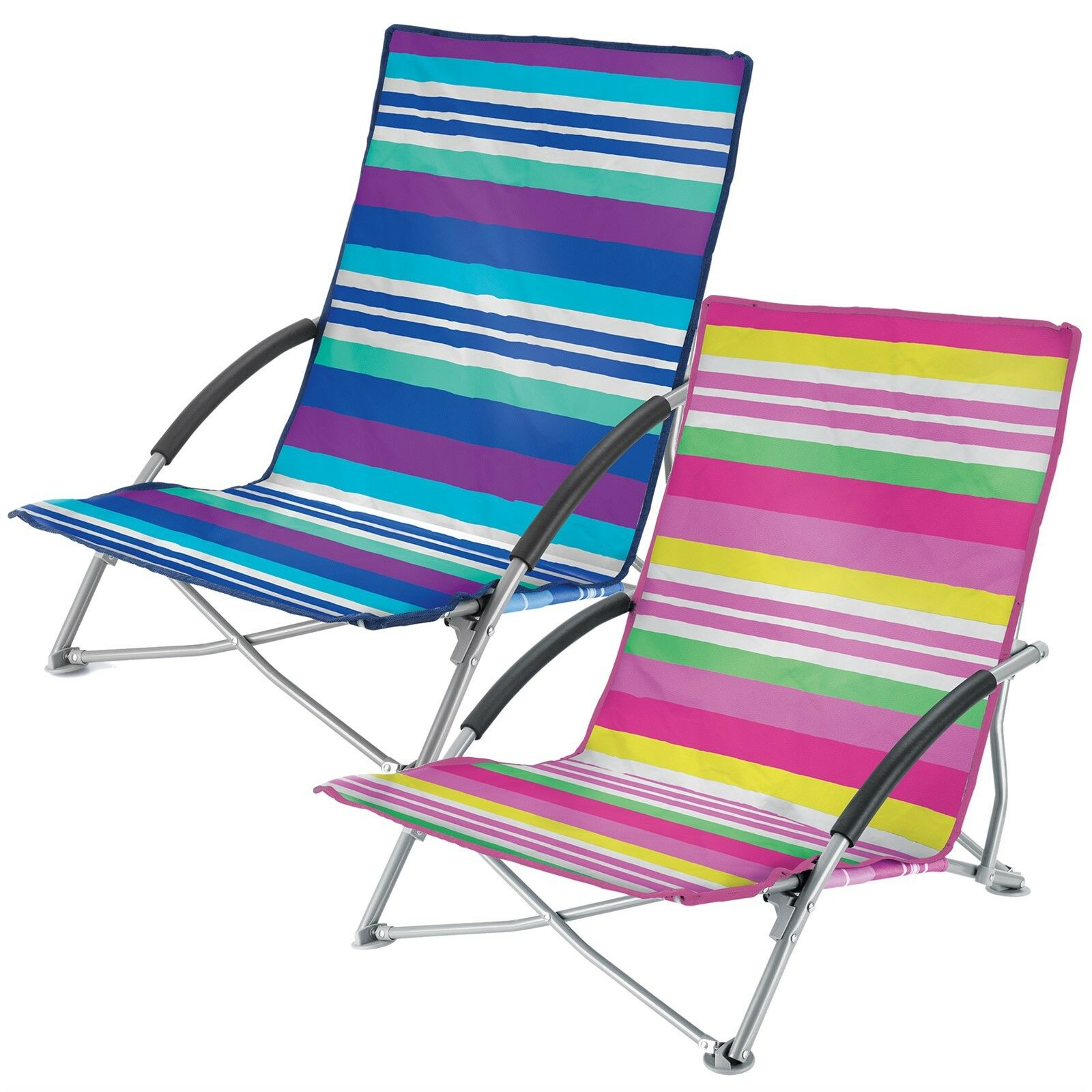 Yello bajo plegable playa sillas camping festival playa - Silla de playa plegable ...