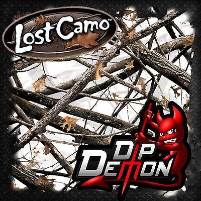 Lost Camo Winter Camo Limbs Brush Hydrographic Water Transfer Film Hydro Dip