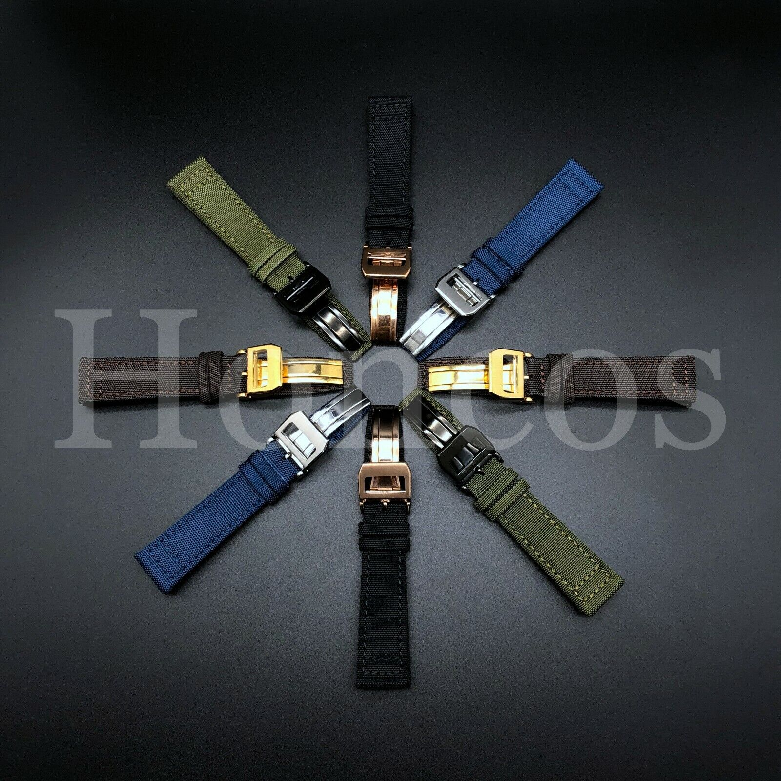 20 21 22MM Canvas Strap Band Buckle for IWC Pilot Top Gun Pi