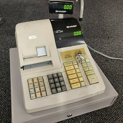 Sharp Er-a320 Electronic Cash Register - Working Condition