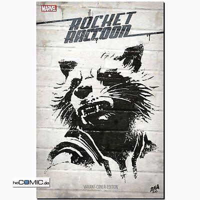 ROCKET RACCOON SC LIMITIERT 222 Ex. Komplette Miniserie MARVEL Panini COMIC NEU