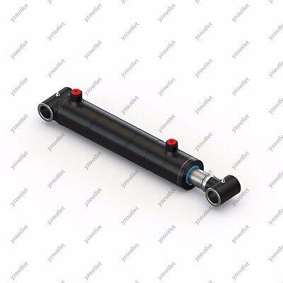 1.5 Bore 8 Stroke Hydraulic Welded Cylinder - Cross Tube