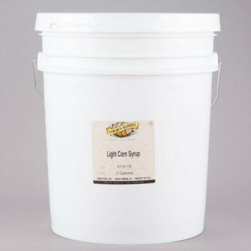 Bulk Supply 5 Gallon Kosher Restaurant Baking Cooking Light Corn Syrup