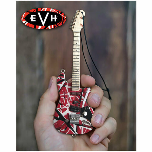 Eddie Van Halen Frankenstein Christmas Tree Ornament Mini Guitar Replica Model