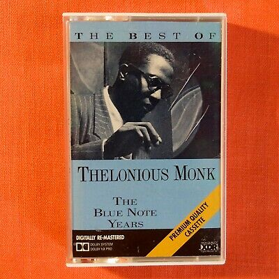 Thelonious Monk The Blue Note Years Cassette Tape1991 Jazz XDR HX Pro Best