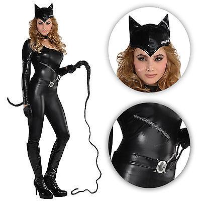 k Fancy Dress Superhero Cat Woman Halloween Comic Costume BN (Catwoman Halloween Fancy Dress)