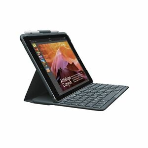 Logitech Slim Folio iPad Keyboard Case - for iPad 5th and 6t