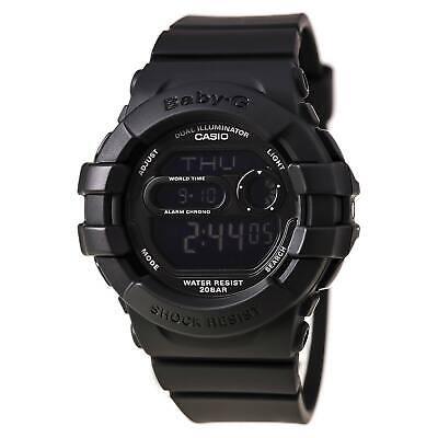 Casio Women's Watch Baby-G Dual Illuminator EL Backlight Black Strap BGD140-1A