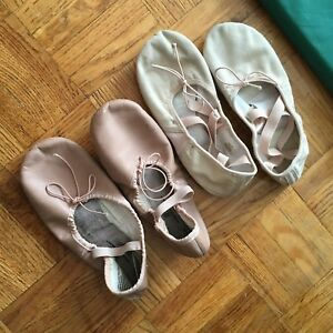 Ballet / Dance leather shoes