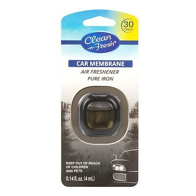 Clean-n-Fresh® Car Vent Clip Air Freshener Clips Scent Pure Iron Up to 30 Days (Fresh Air Vent)