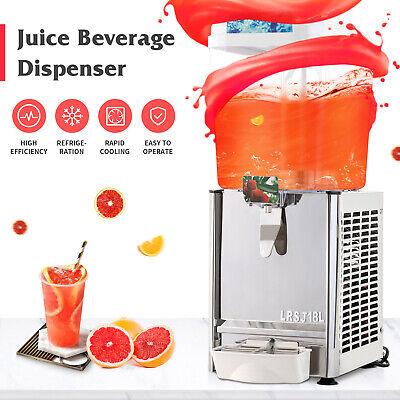 4.75 Gallon Juice Beverage Commercial Dispenser Cold Drink Coffee Fruit Ice Tea