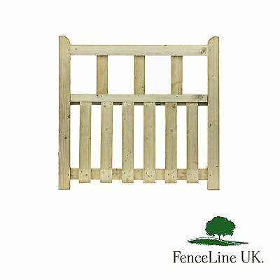 Pale Infill Pathway Gate - 90cm - Wooden - Timber - Garden