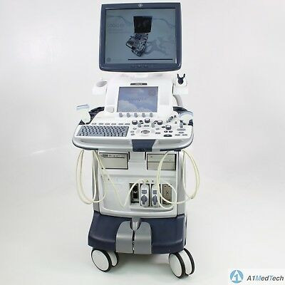 Ge Logiq E9 Ultrasound System With C1-5-d Ml6-15-d Probes