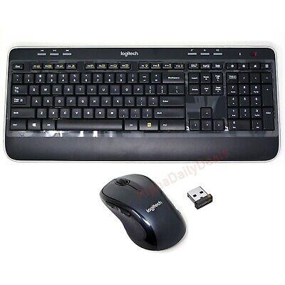 Logitech MK520 Wireless Desktop Keyboard Mouse Combo Bundle for Windows