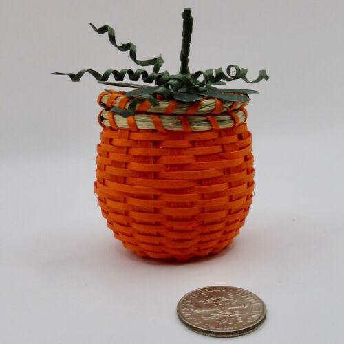 Little Pumpkin Basket - Pam Outdusis Cunningham: Penobscot
