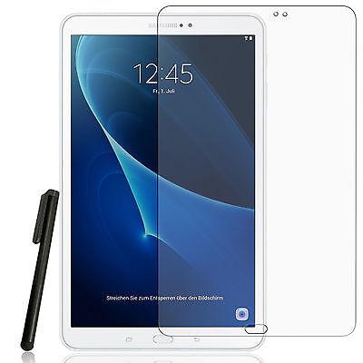 2x Matt Display Schutzfolie Samsung Galaxy Tab A 10.1 A6 2016 Entspiegelt + Pen