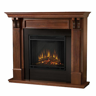 Real Flame 7100E-M Ashley Electric Fireplace- Mahogany NEW