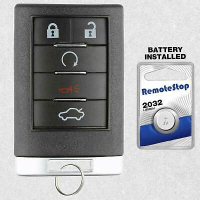 For 2008 2009 Cadillac CTS SRX STS DTS Keyless Entry Prox Remote Car Key Fob