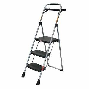 Gorilla 3 Step Household Step Ladder with Paint Tray USED Rhodes Canada Bay Area Preview